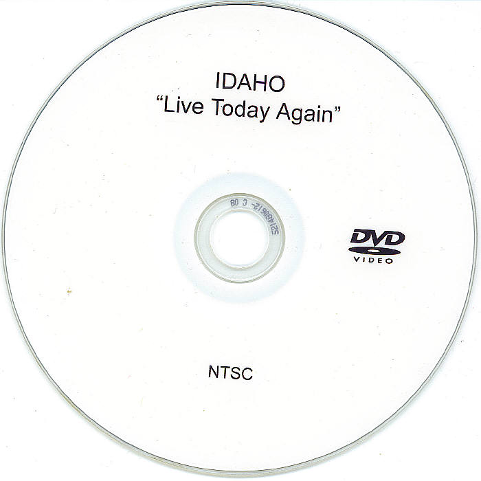 Live Today Again dvd